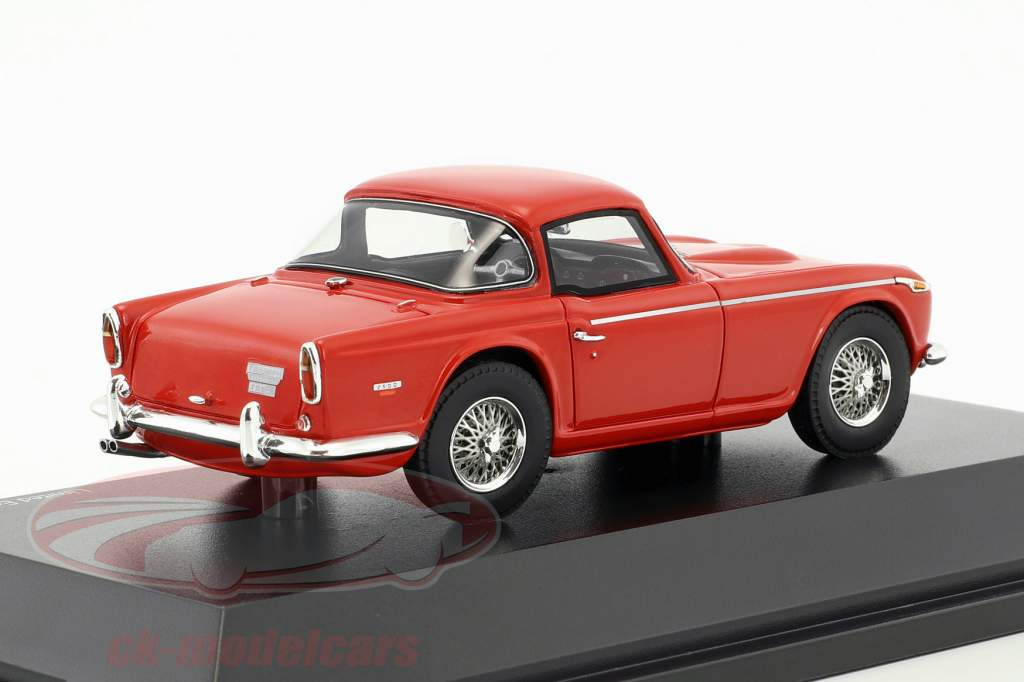 Triumph TR5 closed Top rosso 1:43 Schuco