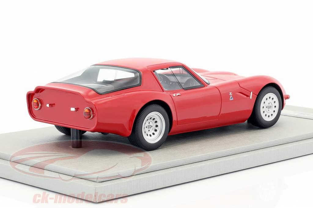 Alfa Romeo TZ2 Presse Version 1965 rot 1:18 Tecnomodel