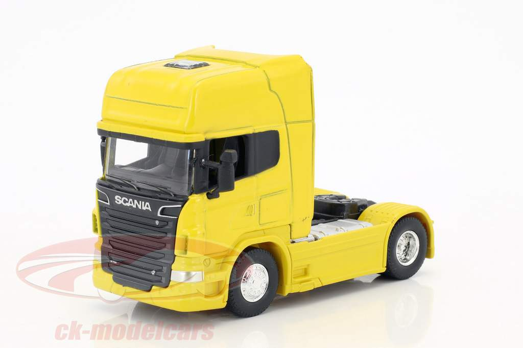 Scania V8 R730 (4x2) giallo 1:64 Welly