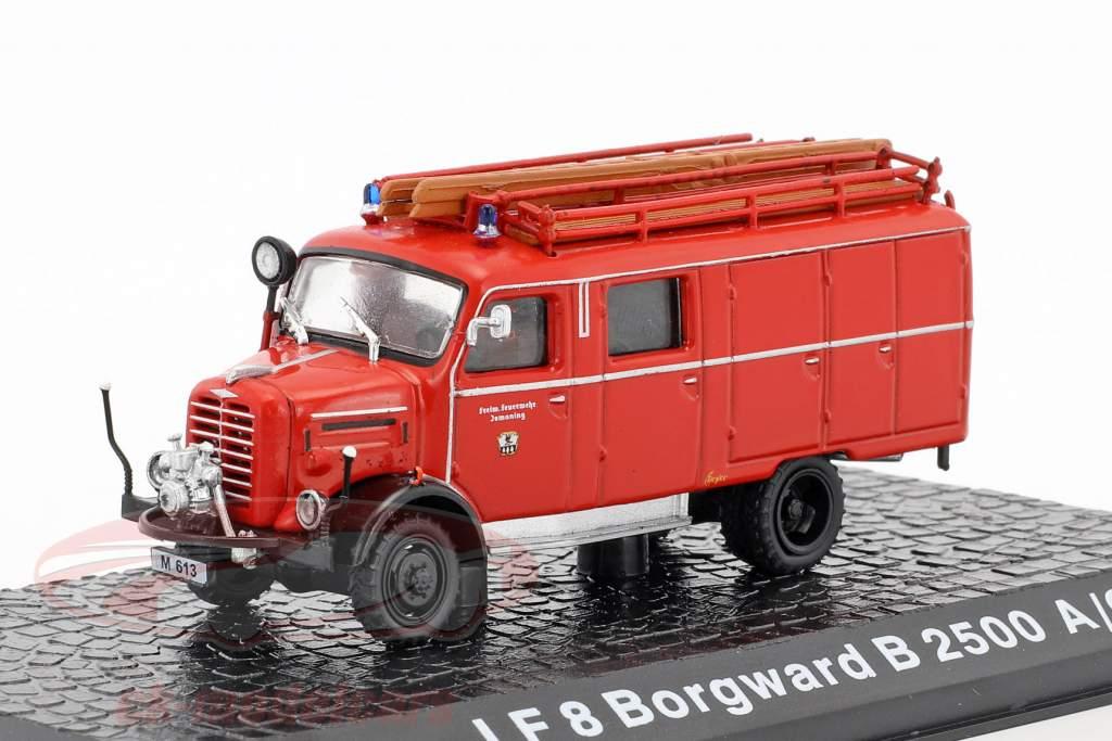 Borgward B2500 A/O LF Feuerwehr Ismaning 1:72 Altaya