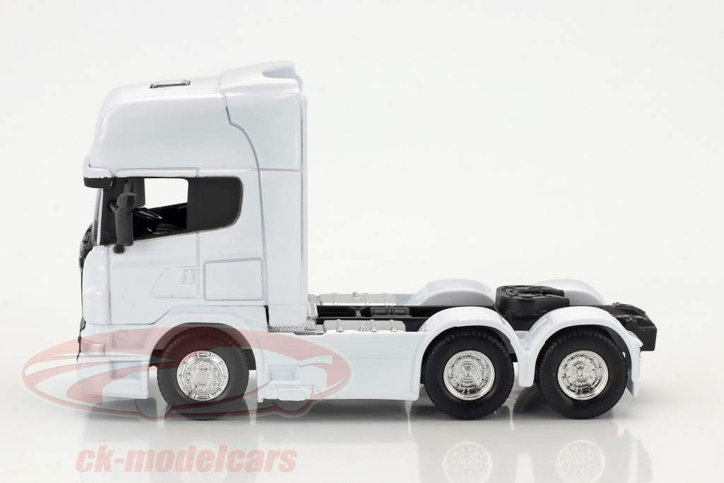 Scania V8 R730 (6x4) white 1:64 Welly