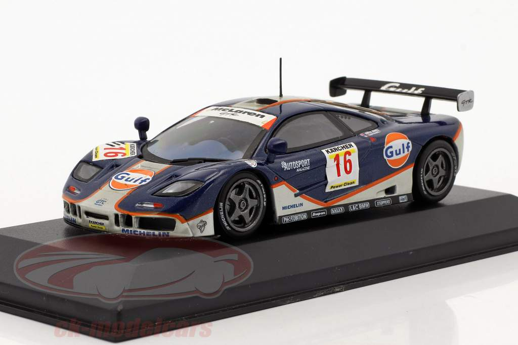 McLaren F1 GTR #16 4th 4h Nürburgring 1995 Raphael, Owen-Jones 1:43 Minichamps false overpack