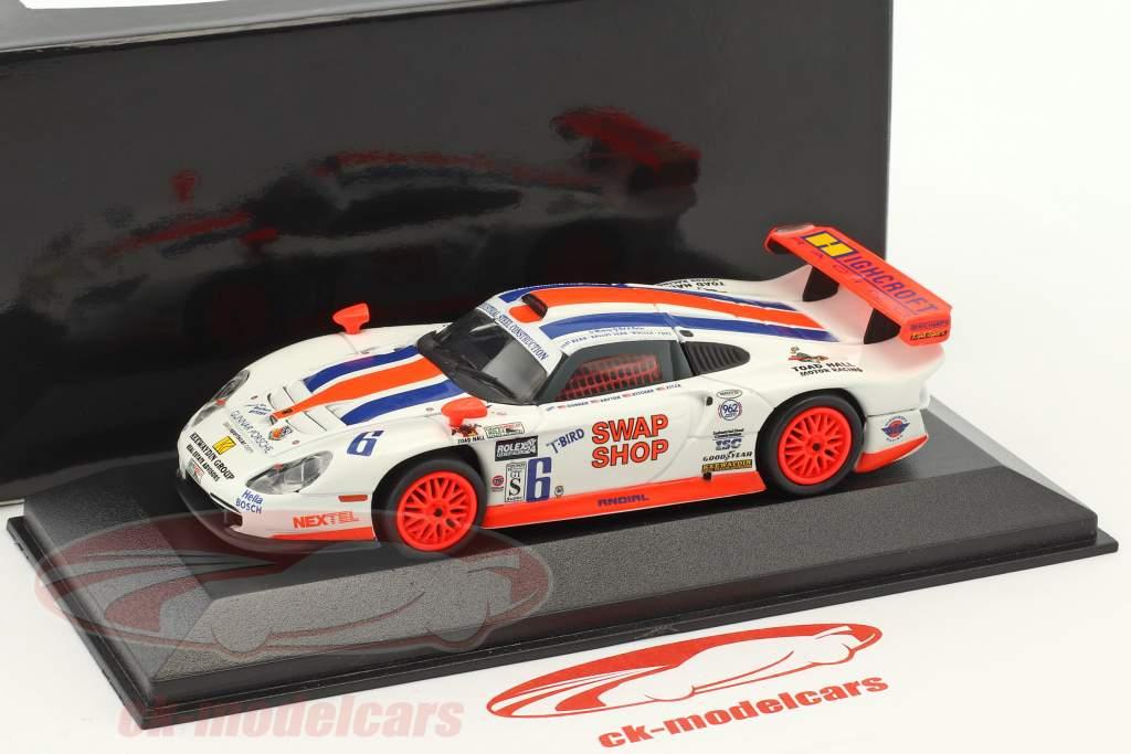 Porsche 911 GT1 #6 24h Daytona 2003 Gunnar Racing 1:43 Minichamps false overpack