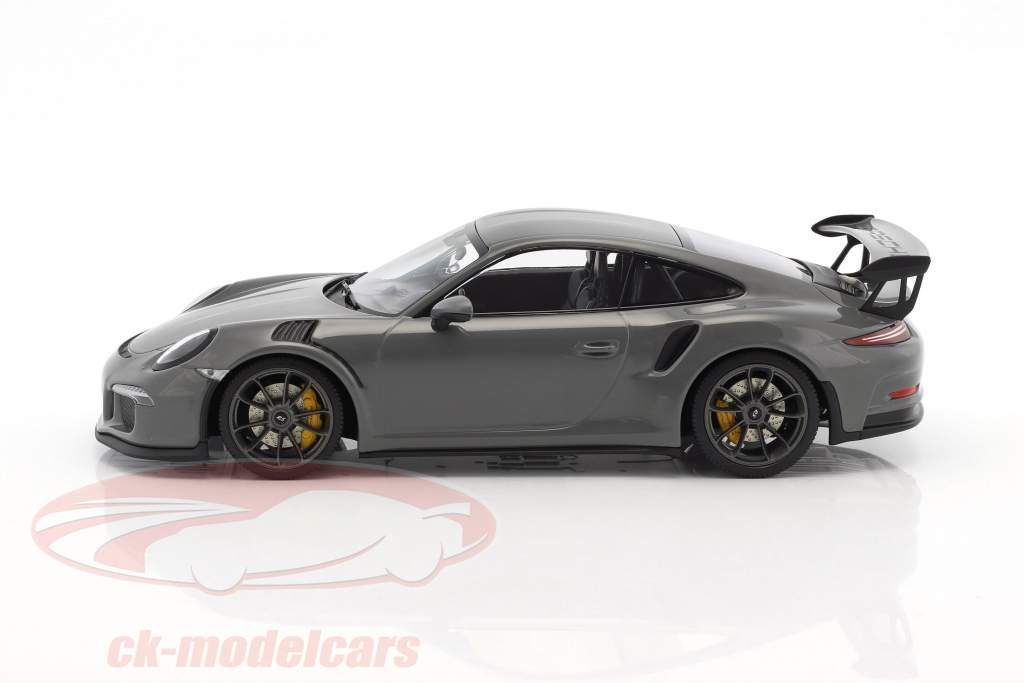 Porsche 911 (991) GT3 RS year 2017 china gray 1:18 Minichamps