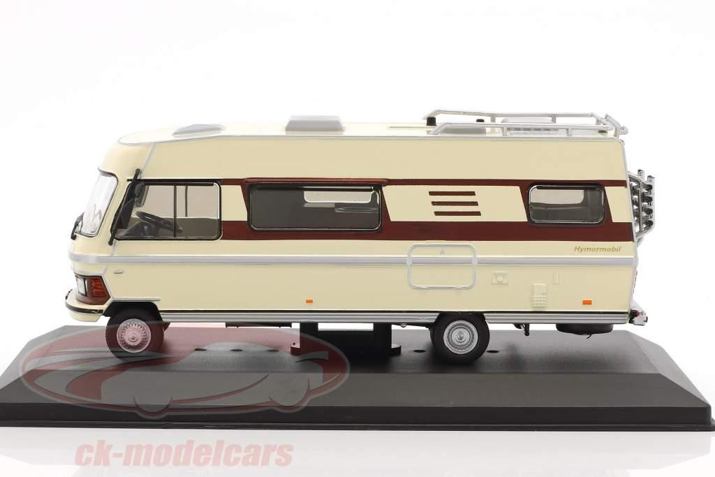 Hymermobil Type 650 anno di costruzione 1985 beige / marrone 1:43 Atlas