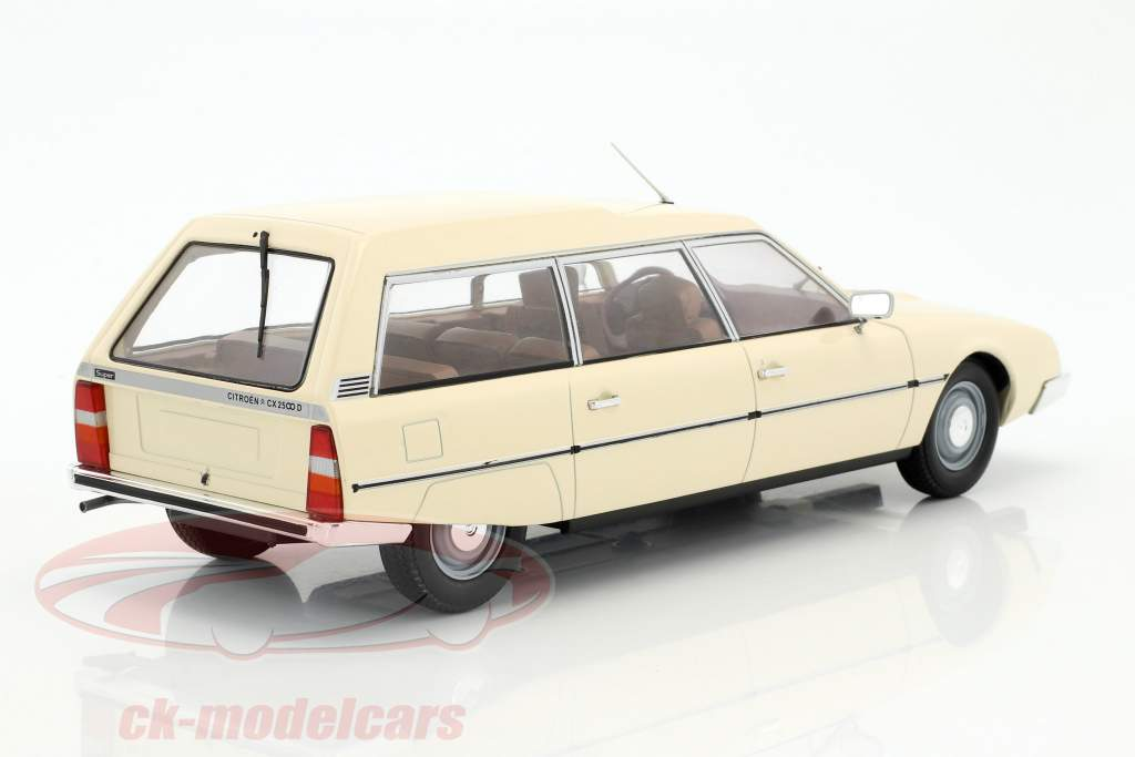 Citroen CX 2500D Super Break serie I anno di costruzione 1976 beige 1:18 Model Car Group