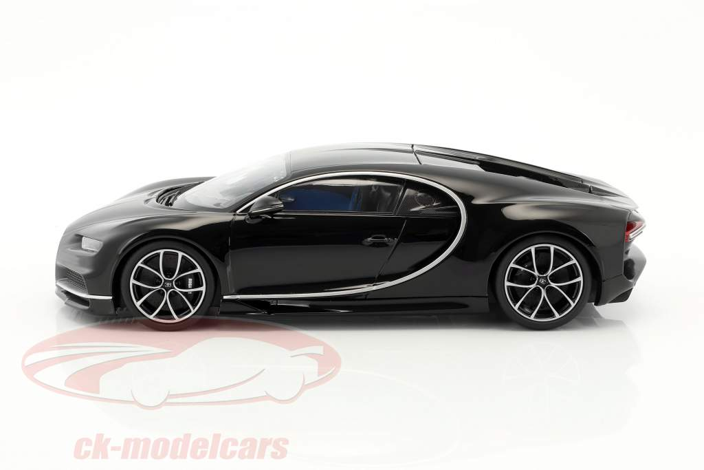 Bugatti Chiron nero 1:18 Kyosho