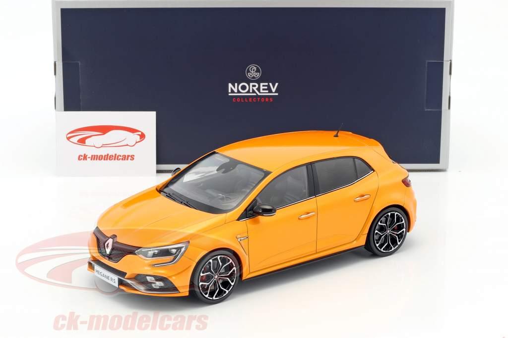 Renault Megane R.S. anno di costruzione 2017 tonico arancione 1:18 Norev