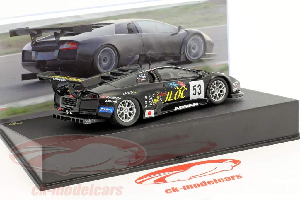 Lamborghini Murcielago R-GT #53 24h LeMans 2007 Yamanishi, Yogo, Apicella 1:43 Leo Models