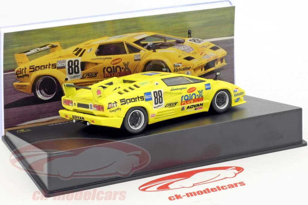 Lamborghini Countach 25th Anniversary Competizione #88 Wada, Ikezawa 1:43 Leo Models