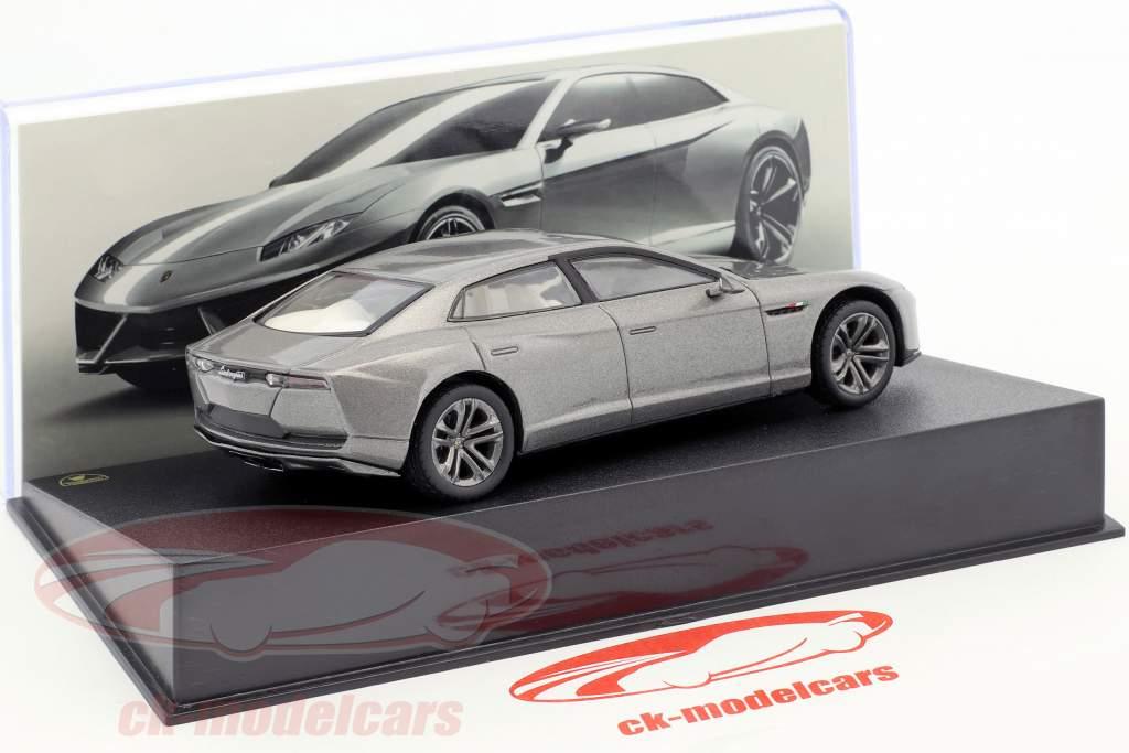 Lamborghini Estoque anno di costruzione 2008 argento 1:43 Leo Models