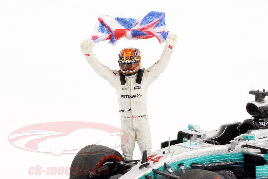 Lewis Hamilton Mercedes F1 W08 EQ Power  #44 Mexican GP campione del mondo Formel 1 2017 1:43 scintilla
