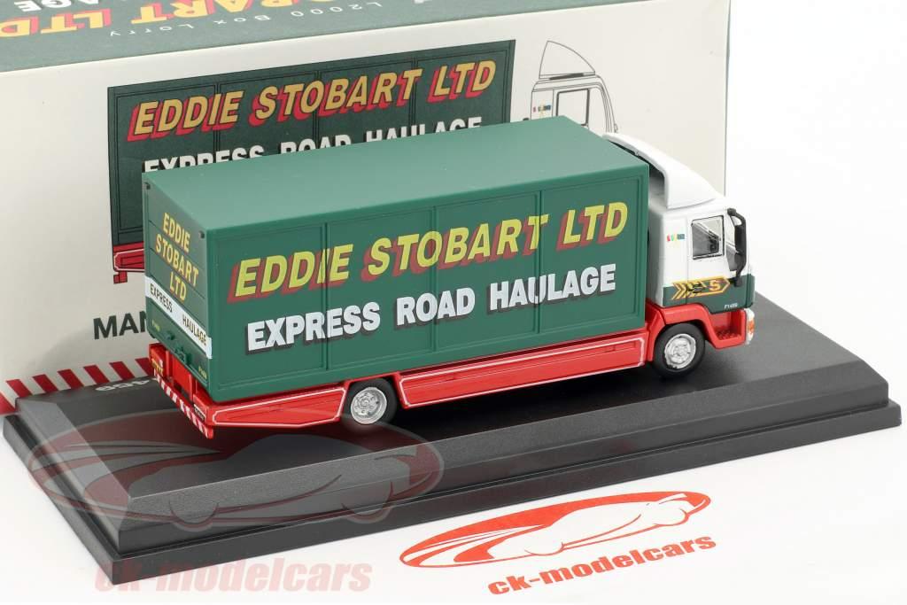 MAN L2000 Box Lorry Valarie Ann F1459 Stobart grün / weiß 1:76 Atlas