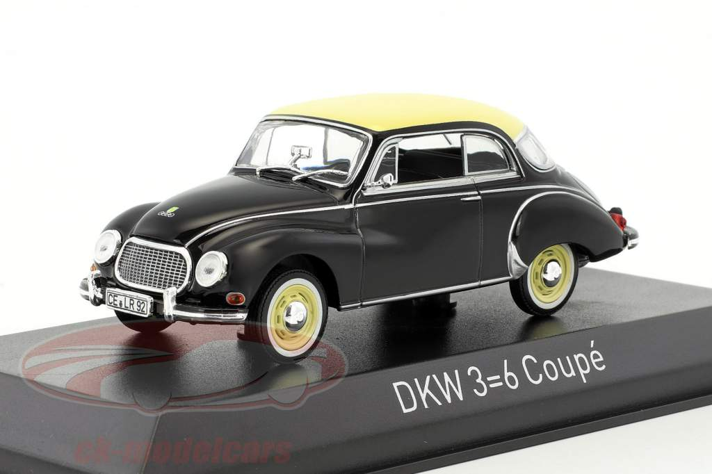 DKW 3=6 coupe year 1958 black 1:43 Norev
