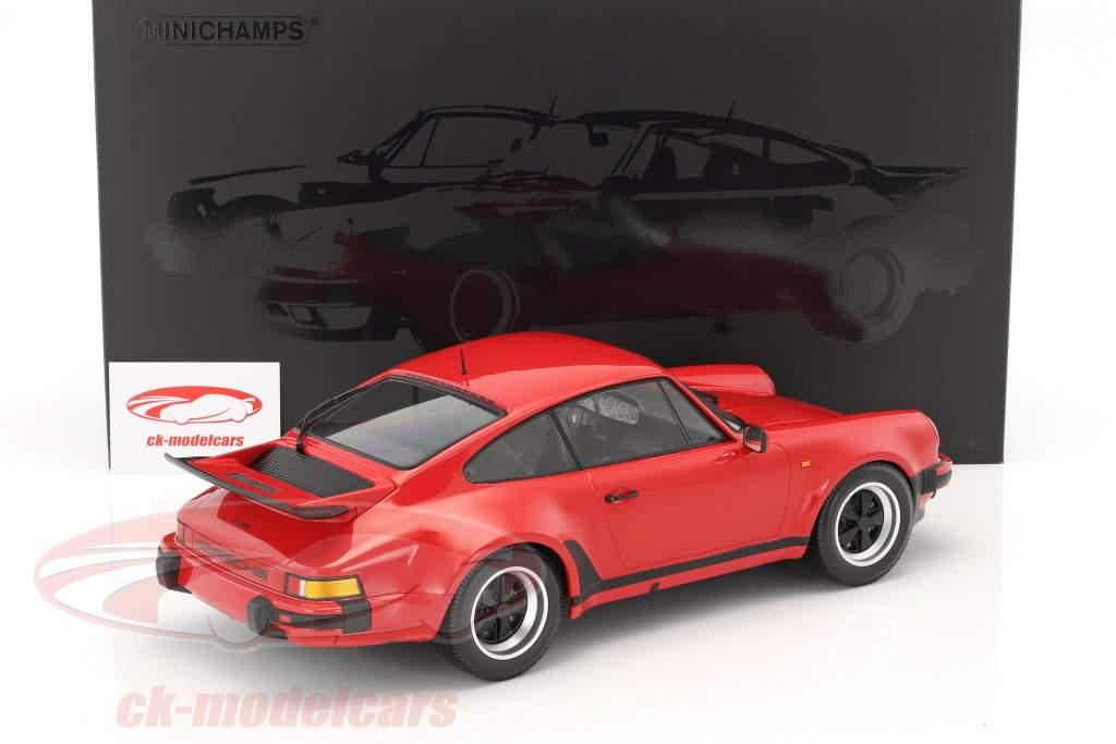 Porsche 911 (930) Turbo year 1977 strawberry red 1:12 Minichamps