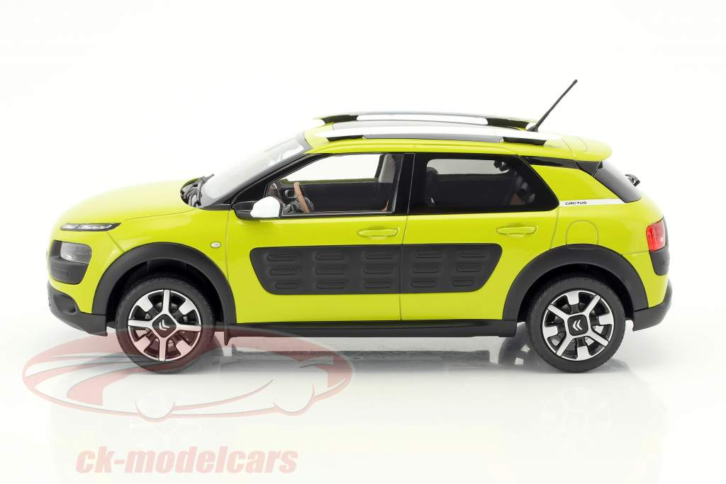 Citroen C4 Cactus year 2014 yellow-green 1:18 Norev