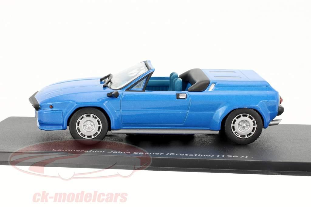 Lamborghini Jalpa Spyder year 1987 blue 1:43 Leo Models