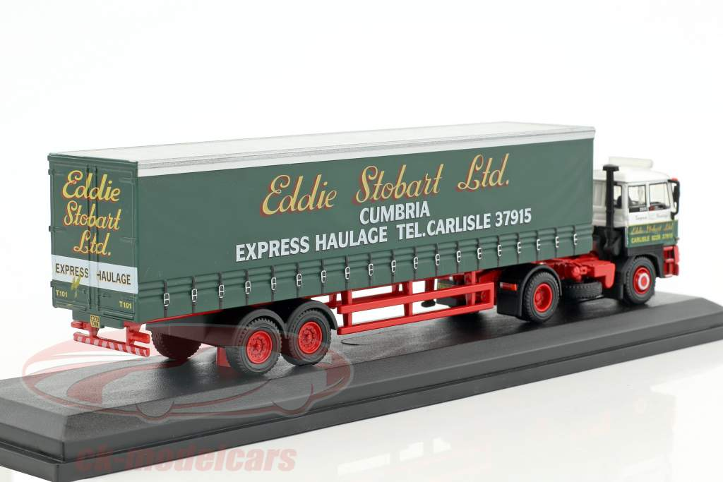 DAF 2800 Curtainside Gemma Lindsay T101 Stobart green / white 1:76 Atlas