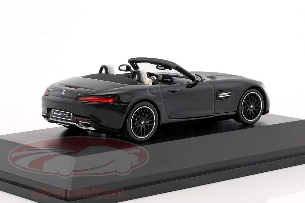 Mercedes-Benz AMG GT Roadster year 2017 magnetite black metallic 1:43 Spark