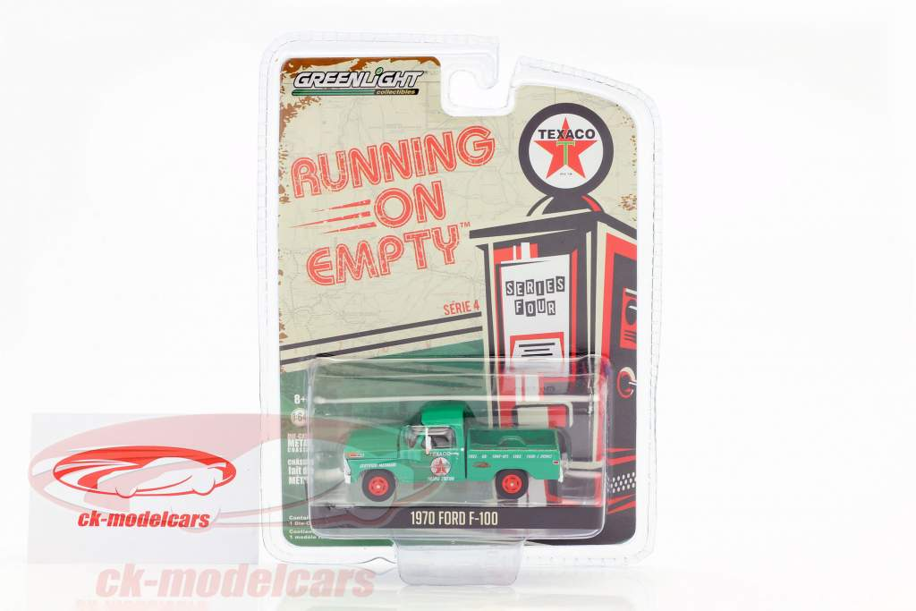 Ford F-100 Pick-Up année de construction 1970 vert 1:64 Greenlight
