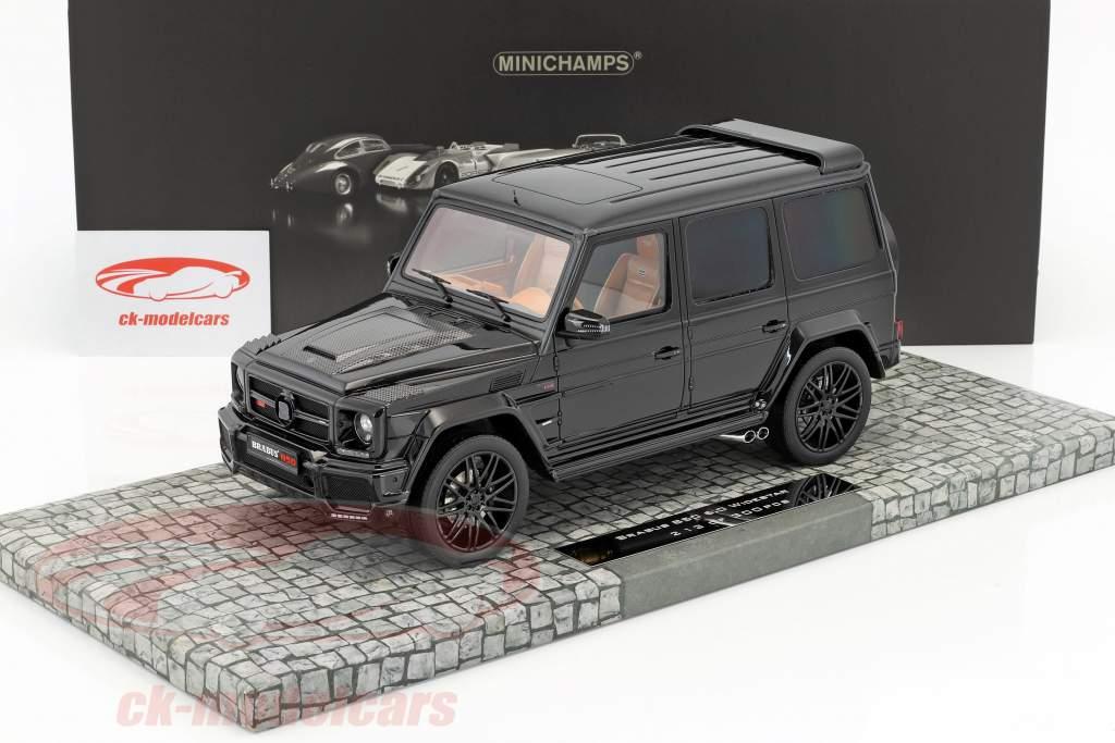 Brabus 850 6.0 Biturbo Widestar based on Mercedes-Benz AMG G63 year 2015 black 1:18 Minichamps