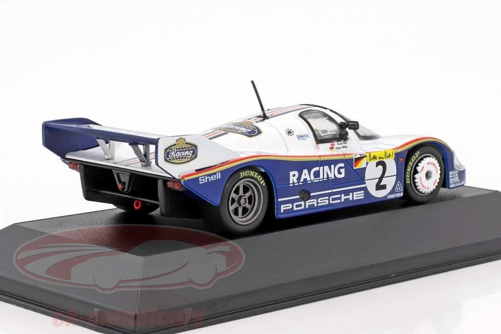Porsche 956K #2 Rekordrunde Nordschleife 6.11,13 min 1000km Nürburgring 1983 Bellof, Bell 1:43 CMR