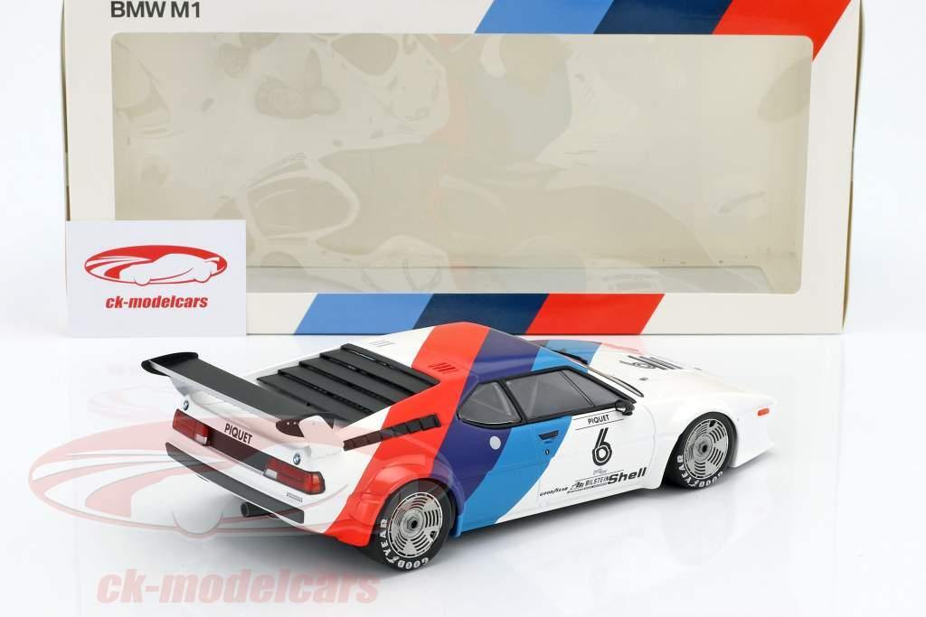 Nelson Piquet BMW M1 Procar #6 M1 Procar Series 1979 1:18 Minichamps
