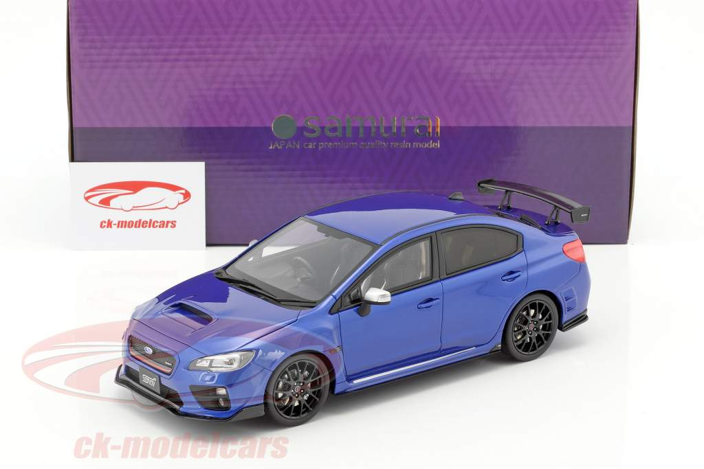 Subaru S207 NGB Challenge Package 2017 blue 1:18 Kyosho