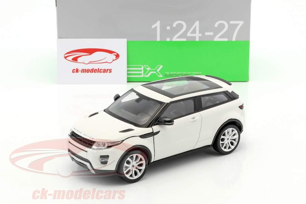 Range Rover Evoque year 2011 white 1:24 Welly