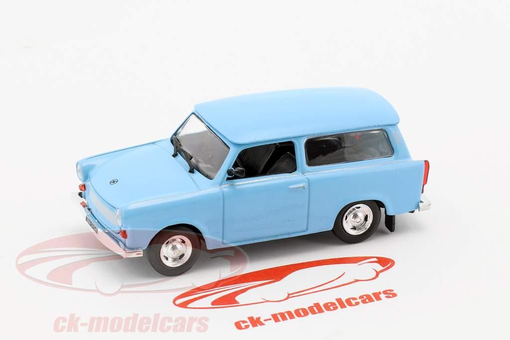Trabant 601 Kombi Universal hellblau 1:43 Altaya
