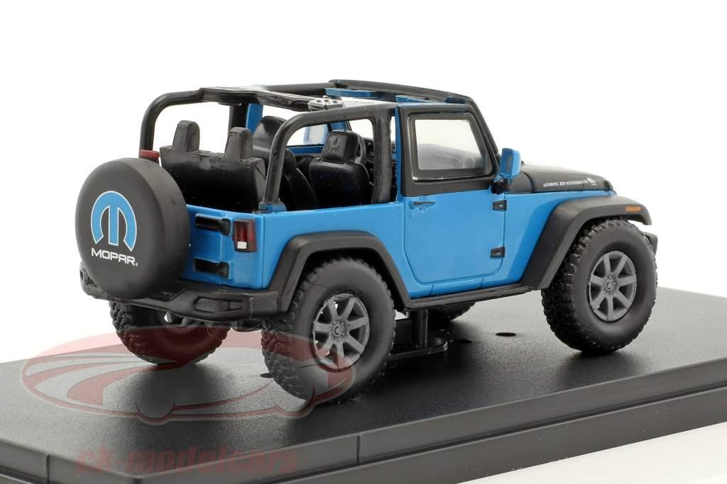 Jeep Wrangler All-Terrain The General Mopar anno di costruzione 2010 blu / nero 1:43 Greenlight