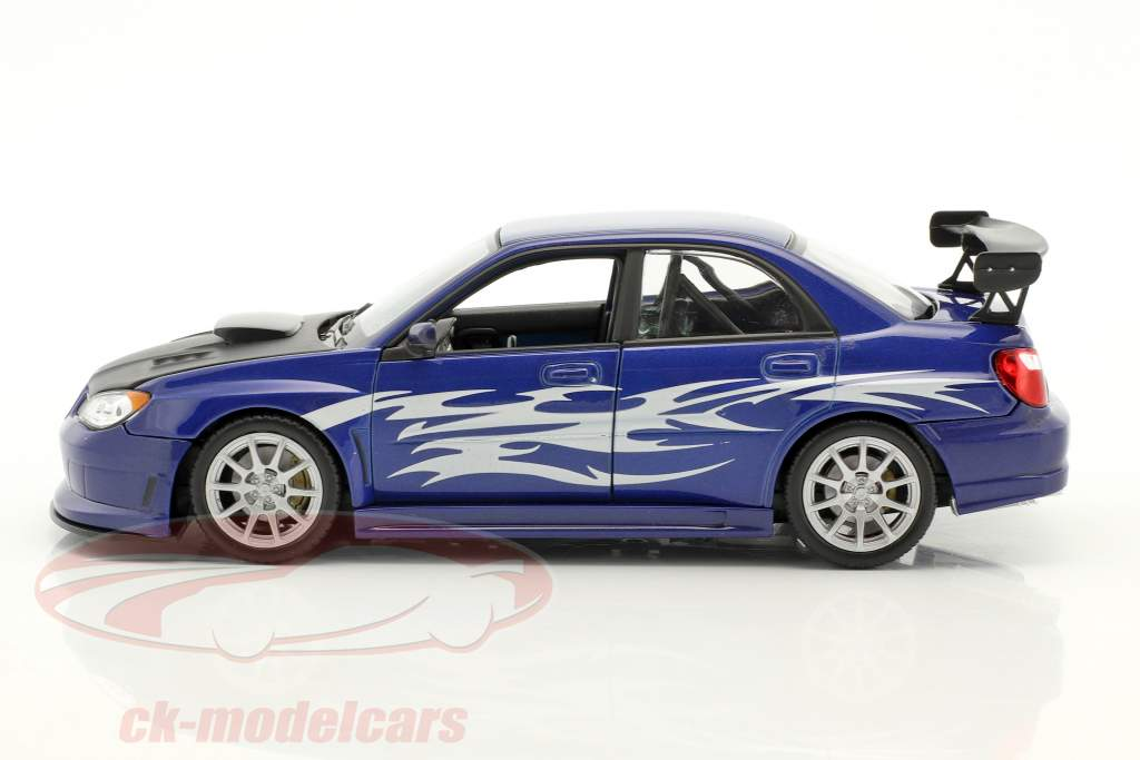 Subaru Impreza Performance blu / argento / nero 1:24 Welly