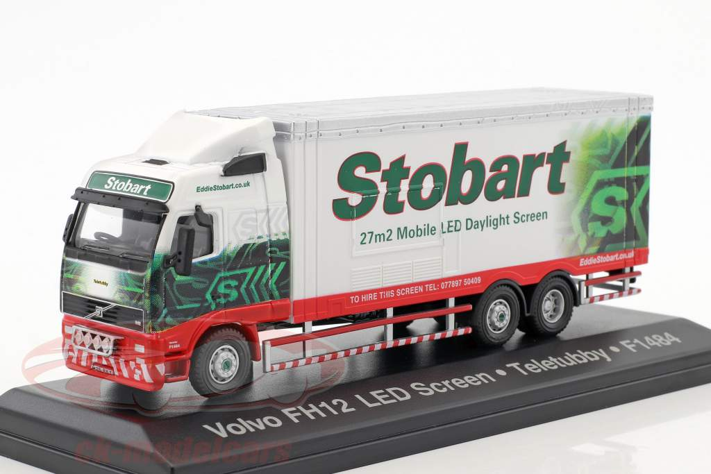 Volvo FH Mobile LED Screen Teletubby F1484 Stobart vert / blanc 1:76 Atlas