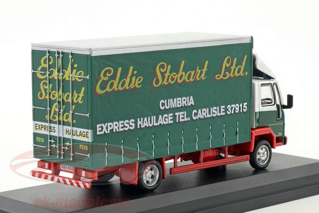 Ford Cargo Curtainside Lorry Leslie F210 Stobart verde / bianco 1:76 Atlas