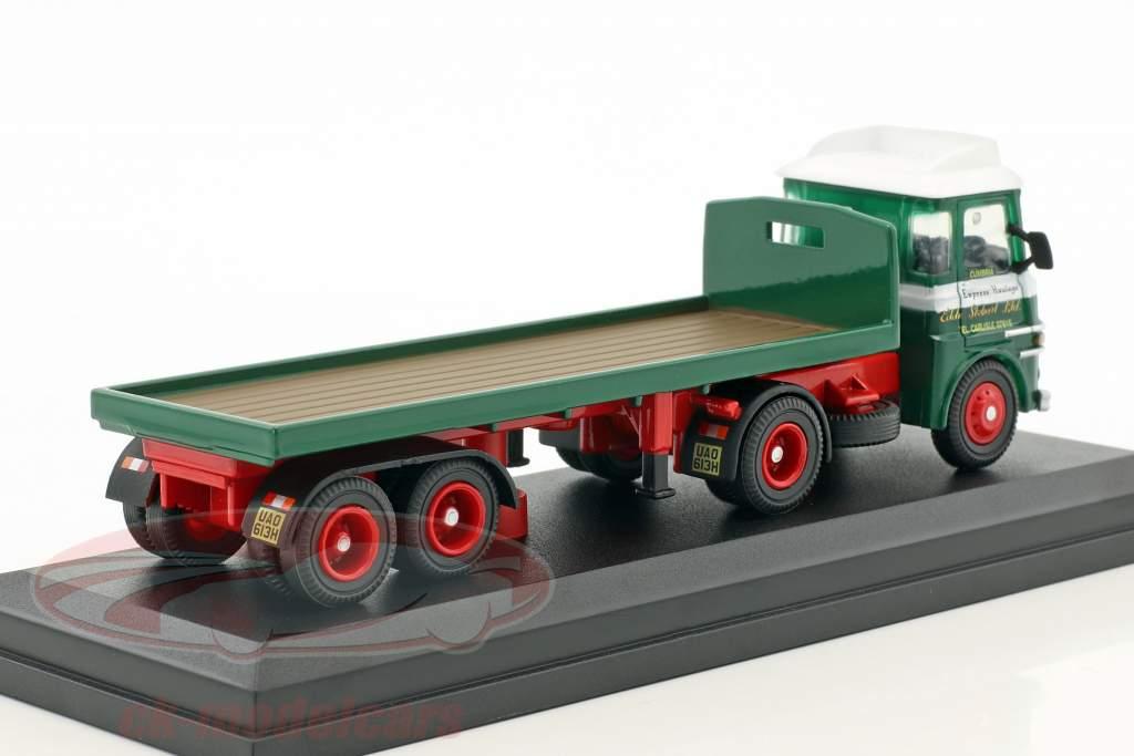 ERF LV Platform Trailer Lynda Stobart green / white 1:76 Atlas
