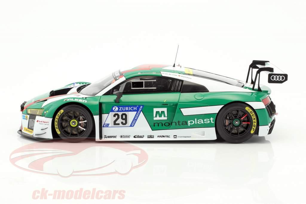 Audi R8 LMS #29 gagnant 24h Nürburgring 2017 Audi Sport Team Land 1:18 Spark