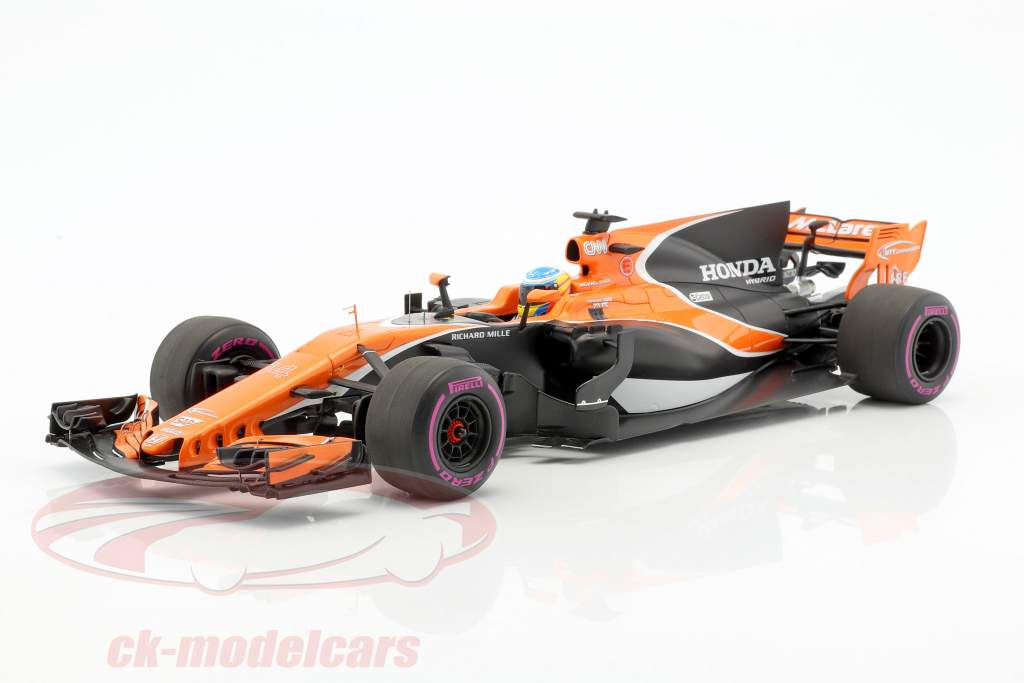 Fernando Alonso McLaren MCL32 #14 Australian GP formula 1 2017 1:18 Spark