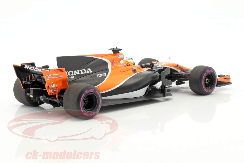 Fernando Alonso McLaren MCL32 #14 Australien GP Formel 1 2017 1:18 Spark