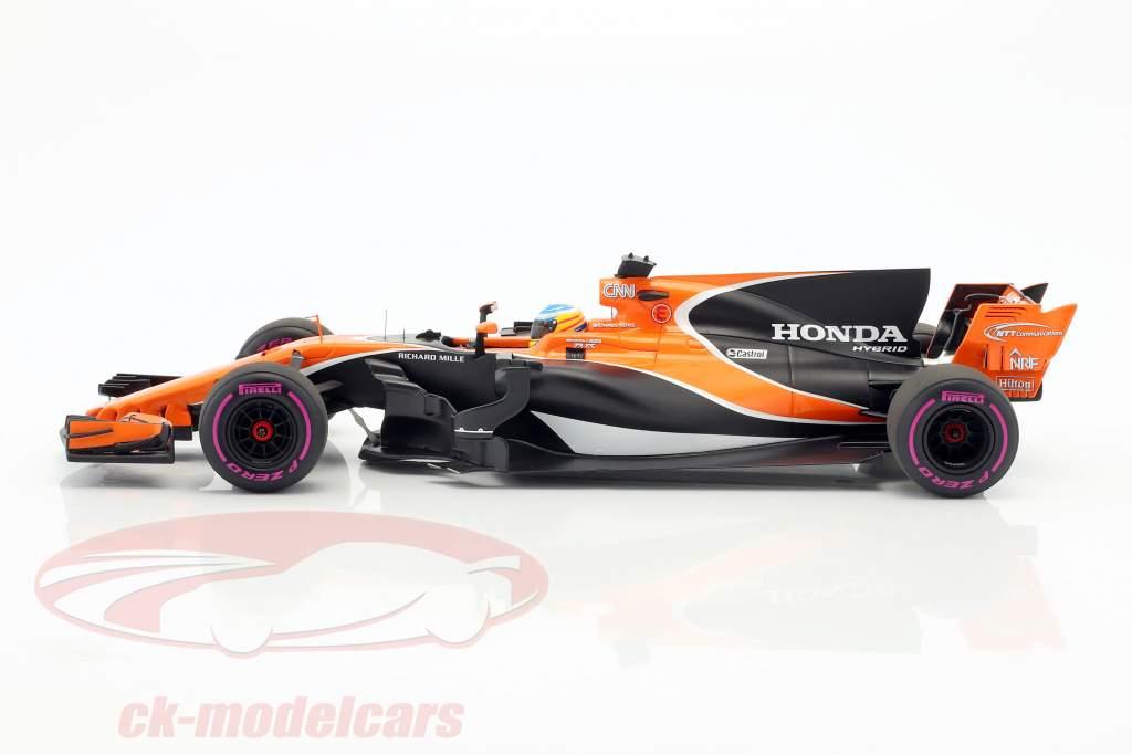 Fernando Alonso McLaren MCL32 #14 australiano GP formula 1 2017 1:18 Spark