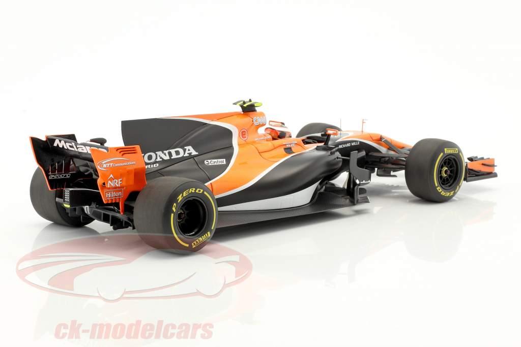 Stoffel Vandoorne McLaren MCL32 #2 Australien GP Formel 1 2017 1:18 Spark