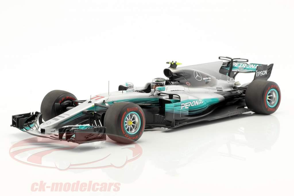 Valtteri Bottas Mercedes F1 W08 EQ Power  #77 vincitore Russian GP Formel 1 2017 1:18 scintilla