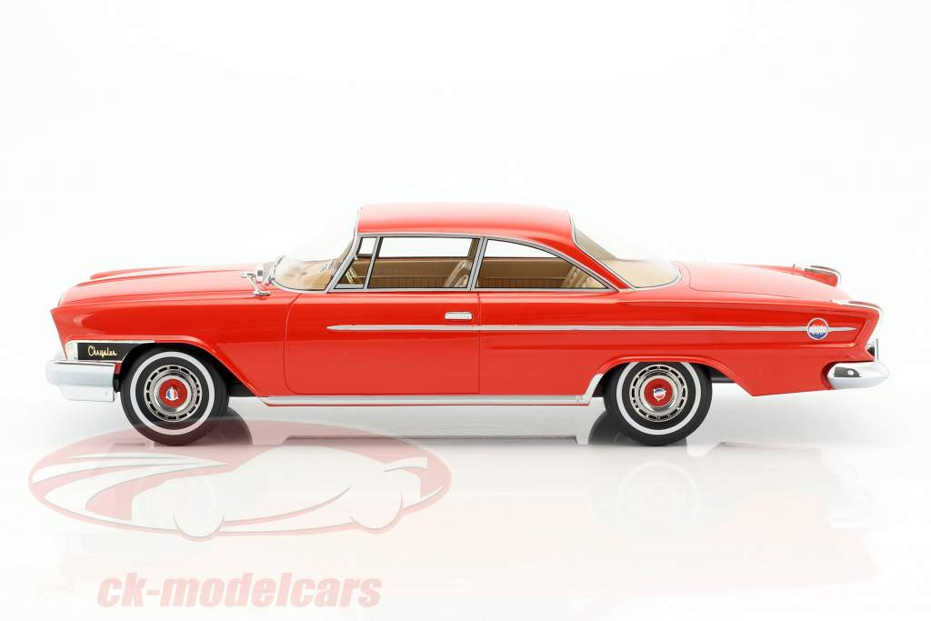 Chrysler 300H 2-Door Hardtop Baujahr 1962 rot 1:18 BoS-Models