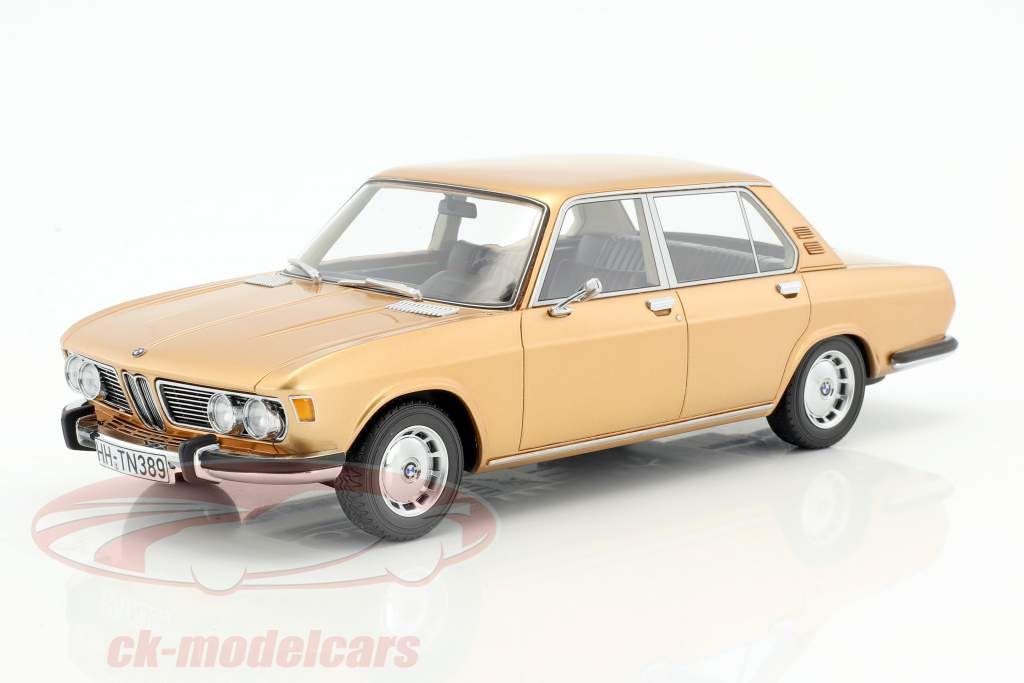 BMW 2500 (E3) year 1968 gold 1:18 BoS-Models