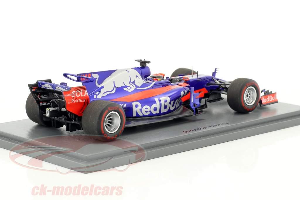 Brendon Hartley Toro Rosso STR12 #28 Abu dhabi GP formule 1 2017 1:43 Spark