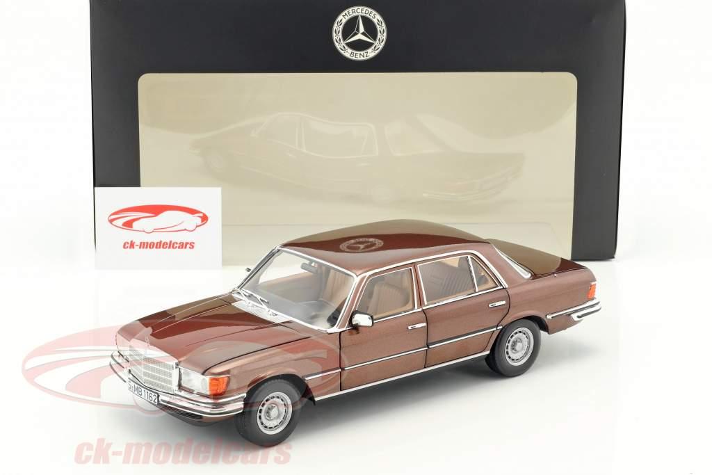 Mercedes-Benz 450 SEL 6.9 (W116) anno di costruzione 1976-1980 milan marrone metallico 1:18 Norev
