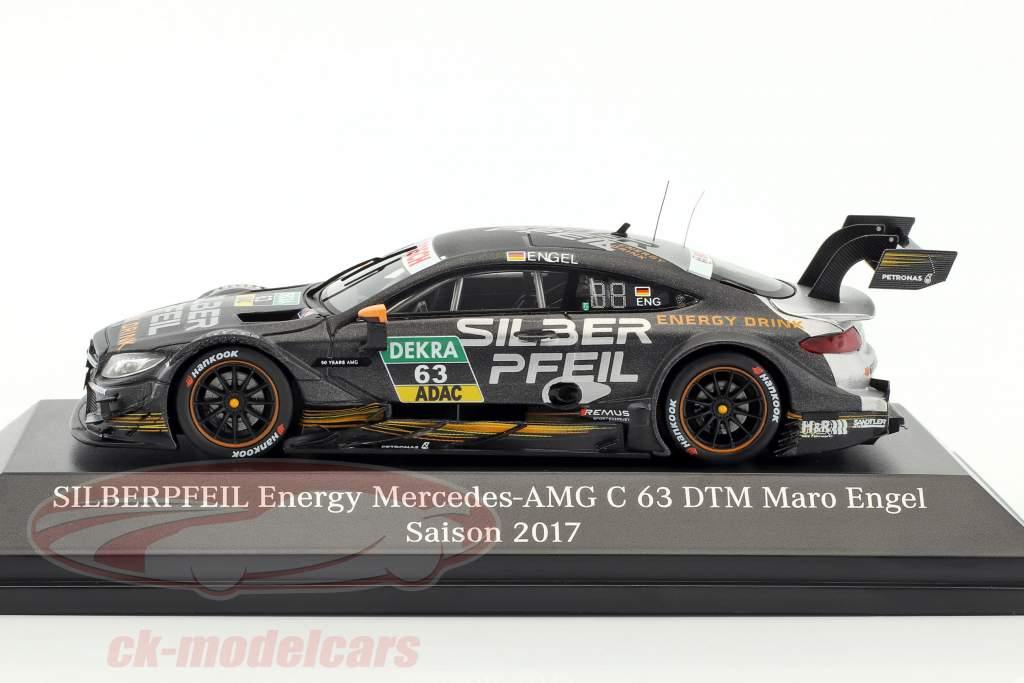 Mercedes-Benz AMG C 63 #63 DTM 2017 Maro Engel 1:43 Spark