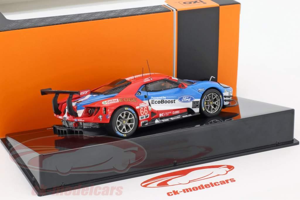 Ford GT #66 Winner GTLM class 24h Daytona 2017 Müller, Hand, Bourdais 1:43 Ixo