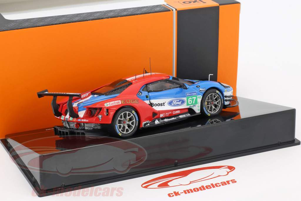 Ford GT #67 24h LeMans 2017 Tincknell, Priaulx, Derani 1:43 Ixo
