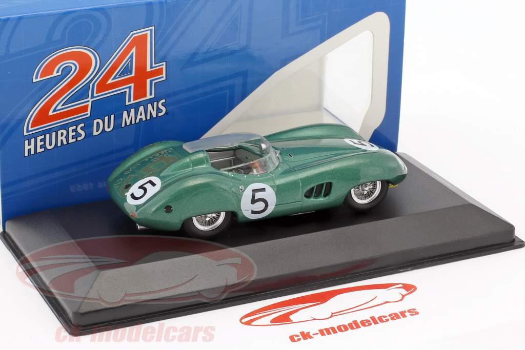 Aston Martin DBR1 RHD #5 gagnant 24h LeMans 1959 Salvadori, Shelby 1:43 Ixo