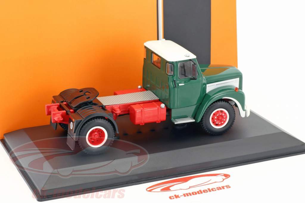 Scania 110 tractor year 1953 green / white 1:43 Ixo